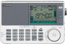 Sangean ATS-909X2 ultieme wereldontvanger FM, SW, MW, LW, Air, wit