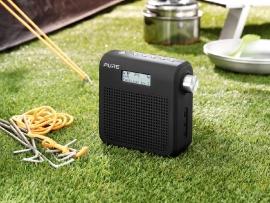 Pure One Mini Series II draagbare DAB+ en FM radio (zwart)