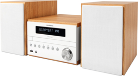 NordMende Transita 300 DAB+ en FM Hi-Fi micro systeem met Bluetooth en CD speler