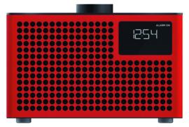 Geneva Acustica Lounge Radio hi-fi DAB+ en FM radio met Bluetooth, rood