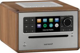 Sonoro Elite SO-910 V2 internetradio met DAB+, FM, CD, Spotify, Bluetooth en USB, walnut