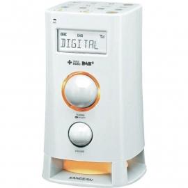 Sangean DCR-200 DAB+ / FM wekkerradio met moodlight, wit