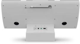 TechniSat MultyRadio 4.0 stereo radio met wifi internet radio, DAB+, CD, Bluetooth en USB, wit