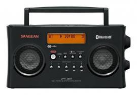 Sangean DPR-26BT stereo digitale DAB+ en FM radio met Bluetooth, zwart