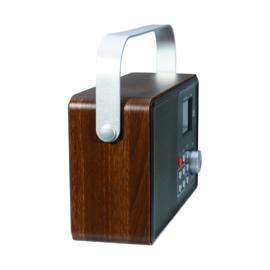 Albrecht DR 860 Senior DAB+/FM gebruiksvriendelijke digitale radio, oplaadbaar