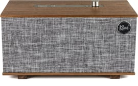 Klipsch The Three hi-fi Bluetooth luidspreker met Google Assistant, Walnoot