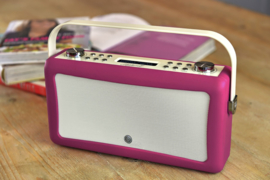 View Quest Hepburn MK 2 DAB+ radio met FM en Bluetooth,  Dark Purple