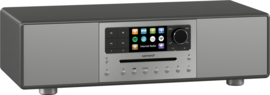 sonoro MEISTERSTÜCK SO-610 V4 stereo internetradio all-in-one muzieksysteem, graphite