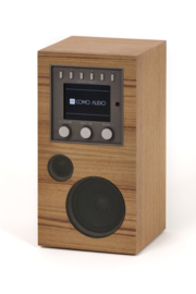 Como Audio Amico oplaadbare radio met wifi internet, DAB+, Spotify en Multi room, Teak