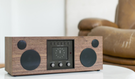 Como Audio Duetto hifi stereo alles-in-1 radio met wifi internet, DAB+, Spotify en Multi room, Walnut