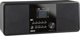 Imperial DABMAN i220 stereo hybride internetradio met Spotify, Bluetooth, DAB+ en FM, zwart