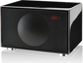 Geneva Classic /M hi-fi speaker met FM en DAB + radio, Bluetooth en alarmklok, zwart