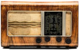 A.bsolument Nr. 726 - Echte Vintage Radio met Bluetooth en audio ingang