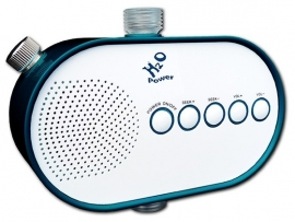 H2O Power Shower Radio