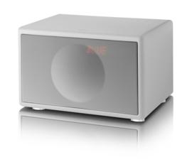 Geneva Classic /S hi-fi speaker met FM / DAB + radio, Bluetooth en alarmklok, wit