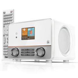 Hama IR115MS stereo internetradio met Spotify en Multiroom, wit