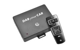 Axion DAB210VW DAB+ adapter voor in de auto met afstandsbediening