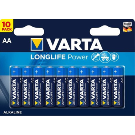 AA batterijen, 10 stuks, Varta