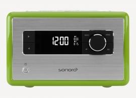 Sonoro tafelradio met DAB+ en FM, USB en Bluetooth, groen