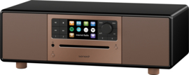 Sonoro Prestige SO-330 V3 stereo internetradio met DAB+, FM, CD, Spotify, Bluetooth en USB, koper