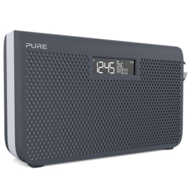 Pure One Maxi Series 3s stereo portable radio met DAB+ en FM, Slate Blue