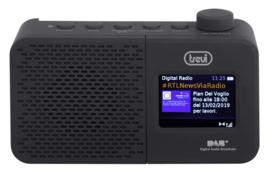 Trevi DAB 795 R draagbare radio met DAB+ en FM