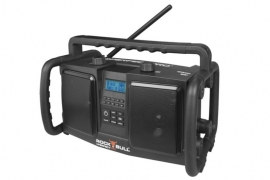 Perfectpro Rockbull stereo werkradio met DAB+ en FM