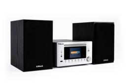 Block MHF-900 hifi stereo systeem met DAB +, FM en Internet Radio, CD speler en bluetooth, zilver
