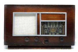 A.bsolument Nr. 815 - Echte Vintage Jaren 40 Radio met Bluetooth en audio ingang