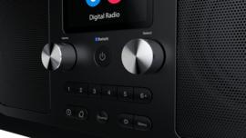 Pure Evoke H6 Prestige Edition draagbare DAB+, FM en Bluetooth stereo radio, zwart