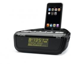 Pure Siesta iDock DAB en FM wekkerradio met iPhone / iPod docking station