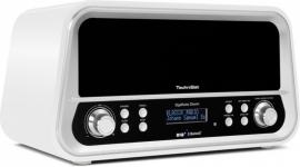 TechniSat DigitRadio Classic DAB+ en FM radio met Bluetooth, wit