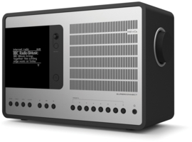 Revo SuperConnect radio met DAB+, internet, streaming, Bluetooth en Spotify, matzwart zilver