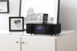 Sangean WFR-2D digitale internetradio met DAB+, Apple docking, Bluetooth en USB