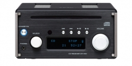 TEAC CR-H101 DAB receiver met CD, DAB+, Bluetooth en USB-DAC, zwart
