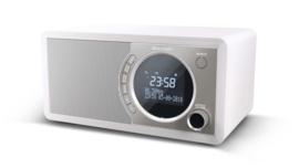 Sharp DR-450 stereo DAB+ radio met FM en Bluetooth, wit