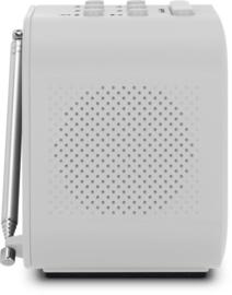 TechniSat Techniradio 40 wekker radio met DAB+ en FM, wit