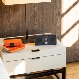 Pure Elan Connect+ stereo DAB+, FM en WIFI internetradio met Bluetooth, Charcoal