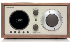 Tivoli Audio Model One+ DAB+ radio met FM en Bluetooth, walnoot