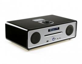 Vita Audio R4i Audio Systeem met CD, iDock, DAB+ en FM in zwart