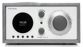 Tivoli Audio Model One+ DAB+ radio met FM en Bluetooth, grijs