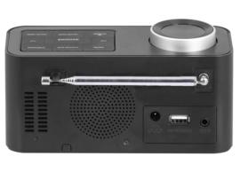 Trevi RC 80D6 DAB wekker radio met DAB+ en FM