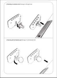 Hama CDR70BT DAB+ en Bluetooth adapter voor in de auto