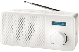 Denver DAB-41 portable DAB+ en FM digital radio, wit