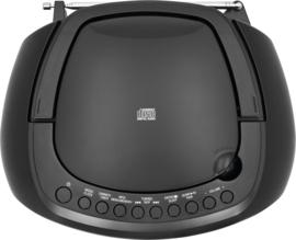 TechniSat DigitRadio 1990 stereo boombox met DAB+ Radio, FM, CD speler, USB en Bluetooth, zwart