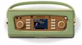 Roberts Revival RD70 DAB+ en FM radio met Bluetooth, Leaf Green