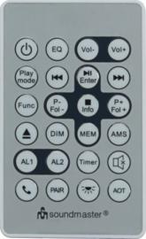 Soundmaster Elite Line UR2195SI stereo onderbouw keuken / slaapkamer radio met DAB+, FM, CD, USB en Bluetooth
