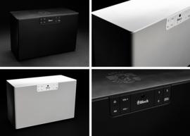 Block ABC - type C stereo 2.1 netwerk luidspreker met internet radio, Spotify, Bluetooth, USB en mulitroom, wit
