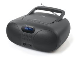 Muse MD-208 DB draagbare stereo Radio CD speler met DAB+ en FM, zwart