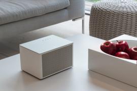 Geneva Acustica hi-fi Bluetooth en lijn-in luidspreker, wit